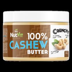 NutVit 100% Cashew Butter 500 g